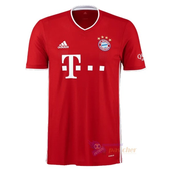 Magasin Foot adidas Domicile Maillot Bayern Munich 2020 2021 Rouge