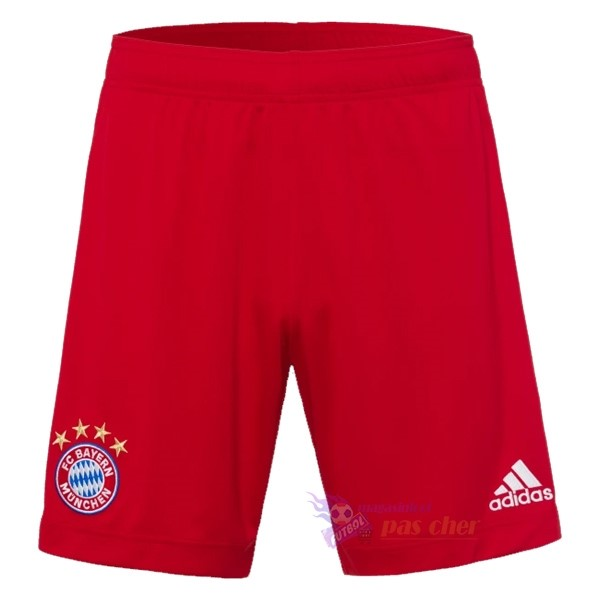 Magasin Foot adidas Domicile Pantalon Bayern Munich 2020 2021 Rouge