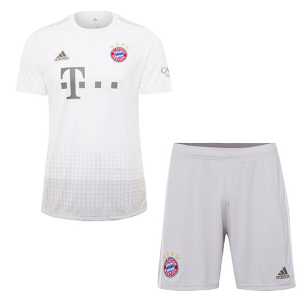 Magasin Foot adidas Exterieur Ensemble Enfant Bayern Munich 2019 2020 Blanc