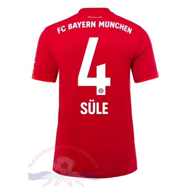 Magasin Foot adidas NO.4 Sule Domicile Maillot Bayern Munich 2019 2020 Rouge