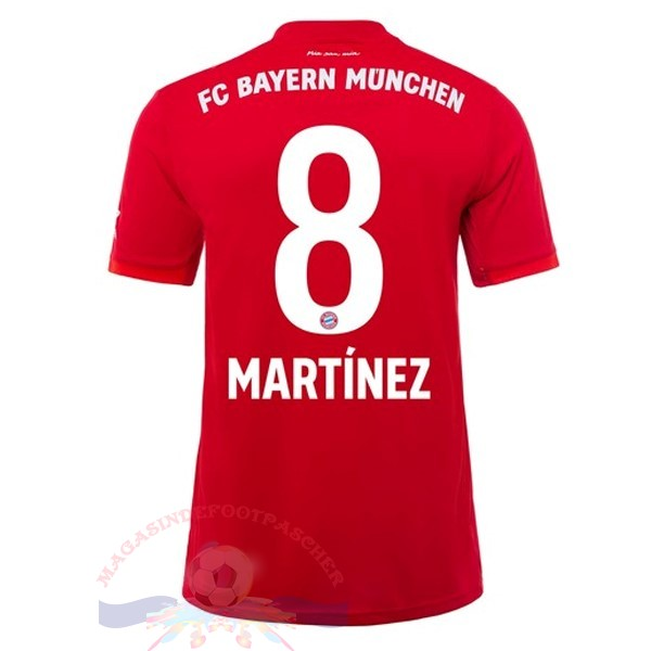 Magasin Foot adidas NO.8 Martinez Domicile Maillot Bayern Munich 2019 2020 Rouge