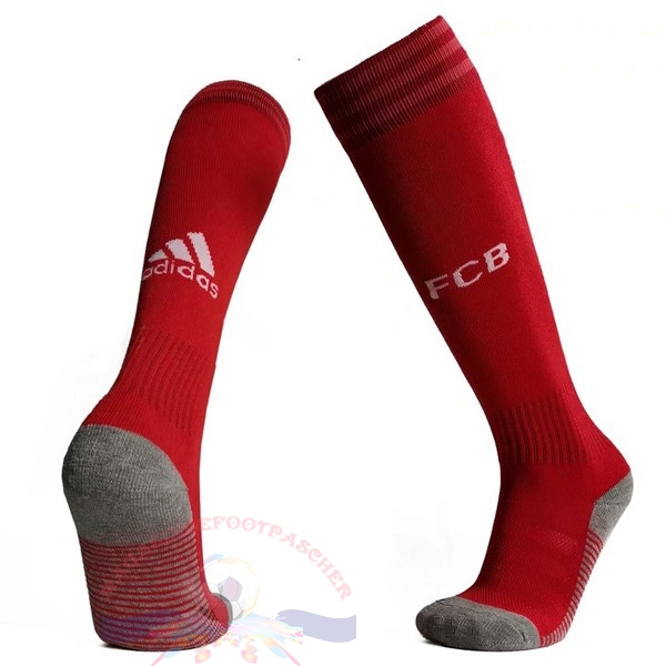 Magasin Foot adidas Domicile Chaussette Bayern Munich 2019 2020 Rouge