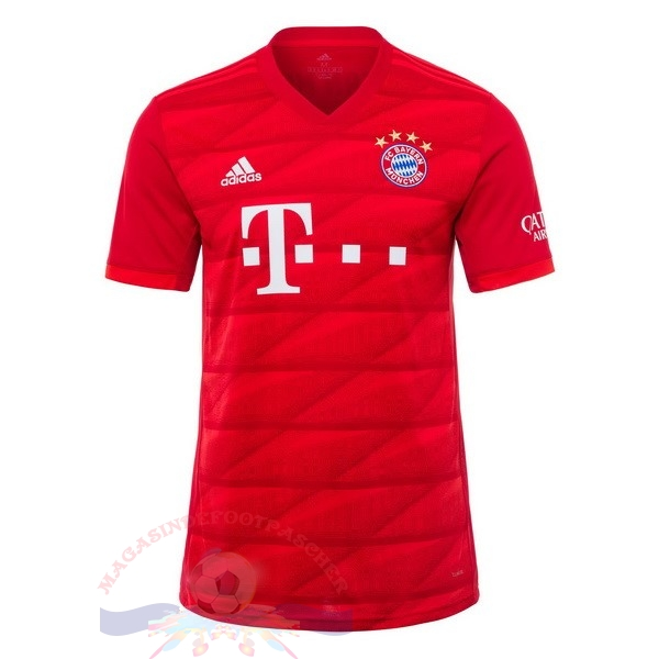 Magasin Foot adidas Domicile Maillot Bayern Munich 2019 2020 Rouge