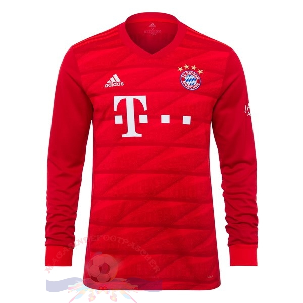 Magasin Foot adidas Domicile Manches Longues Bayern Munich 2019 2020 Rouge