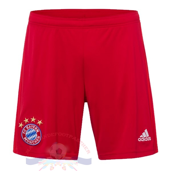 Magasin Foot adidas Domicile Pantalon Bayern Munich 2019 2020 Rouge