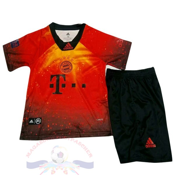 Magasin Foot Adidas Ea Sport DomiChili Conjunto De Enfant Bayern De Múnich 2018 2019 Orange