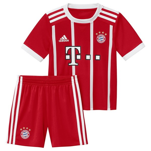 Magasin Foot adidas Domicile Ensemble Enfant Bayern Munich 2017 2018 Rouge
