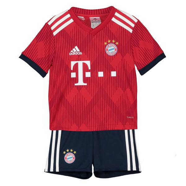 Magasin Foot adidas Domicile Ensemble Enfant Bayern Munich 2018 2019 Rouge