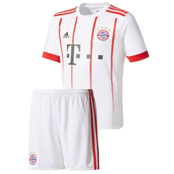 Magasin Foot adidas Third Ensemble Enfant Bayern Munich 2017 2018 Blanc