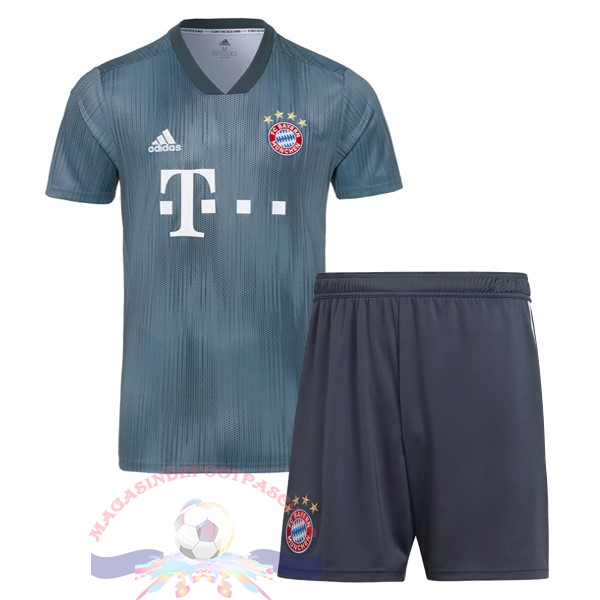 Magasin Foot adidas Third Ensemble Enfant Bayern Munich 18-19 Gris