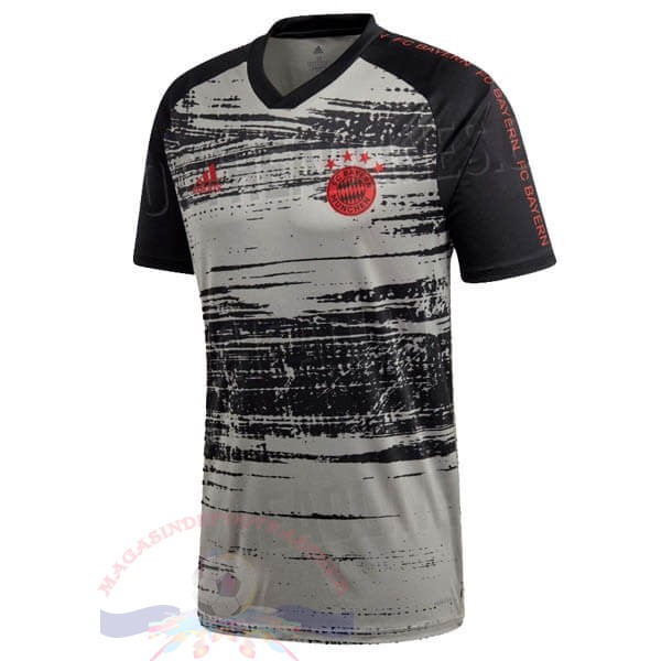 Magasin Foot adidas Pre Match Maillot Bayern Munich 2020 Gris