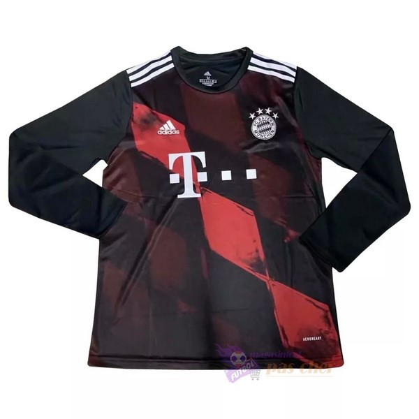 Magasin Foot adidas Third Manches Longues Bayern Munich 2020 2021 Rouge