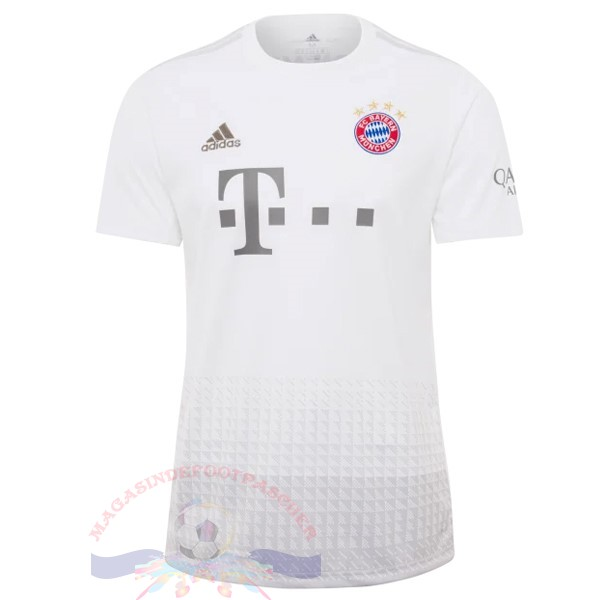 Magasin Foot Adidas Exterieur Maillot Bayern München 2019 2020 Blanc