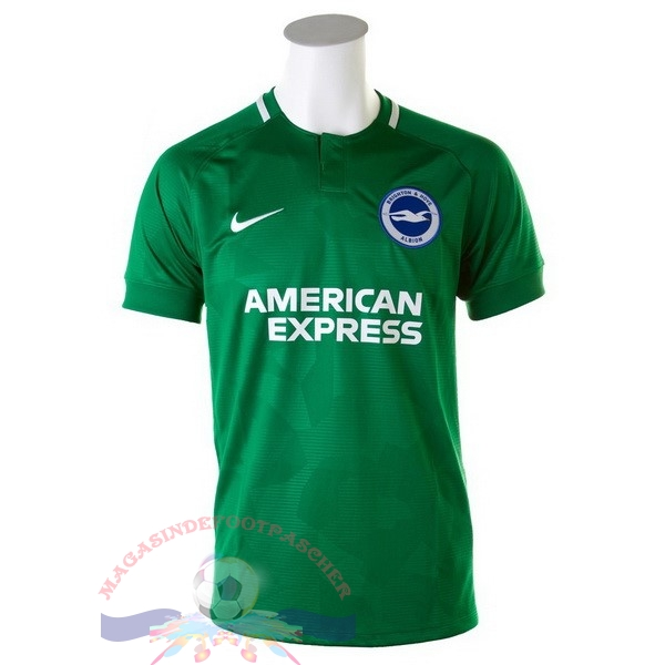 Magasin Foot Nike Exterieur Maillots Brighton 18-19 Vert