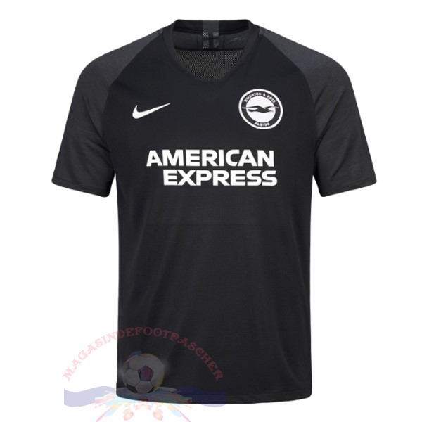 Magasin Foot Nike Exterieur Maillot Brighton 2019 2020 Noir