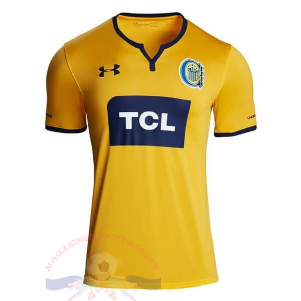 Magasin Foot Under Armour Exterieur Maillot CA Roserio Central 2019 2020 Jaune