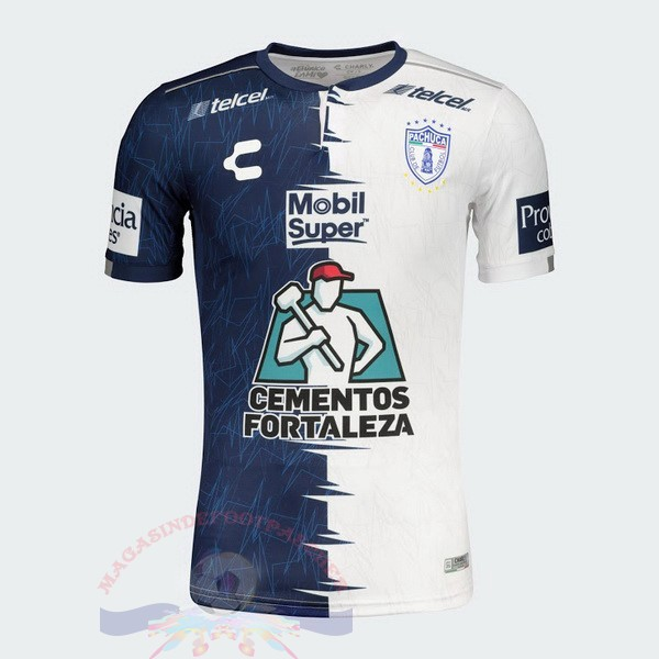 Magasin Foot Tenis Charly Domicile Maillot Pachuca 2019 2020 Bleu Blanc