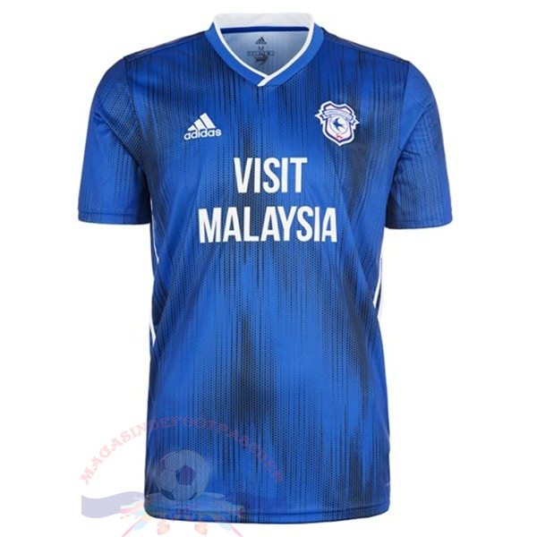 Magasin Foot adidas Domicile Maillot Cardiff City 2019 2020 Bleu