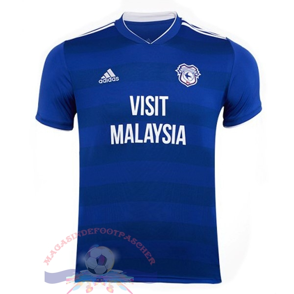 Magasin Foot adidas Domicile Maillots Cardiff City 18-19 Bleu