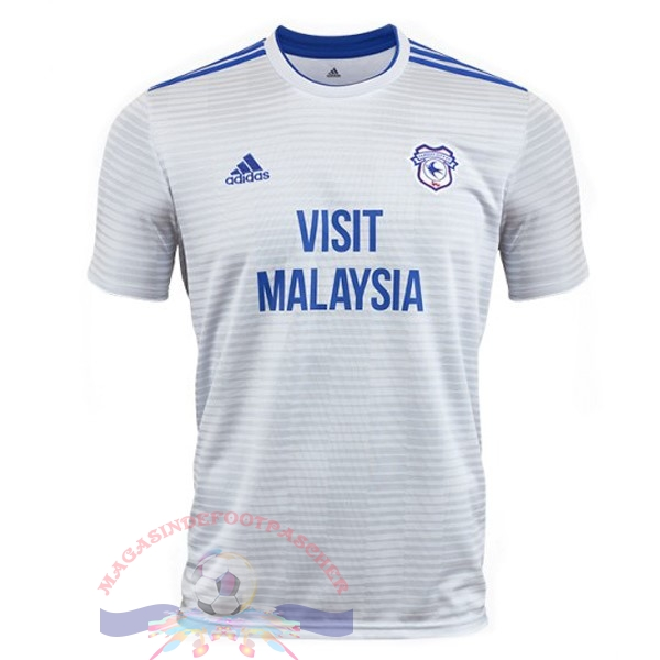 Magasin Foot adidas Exterieur Maillots Cardiff City 18-19 Blanc