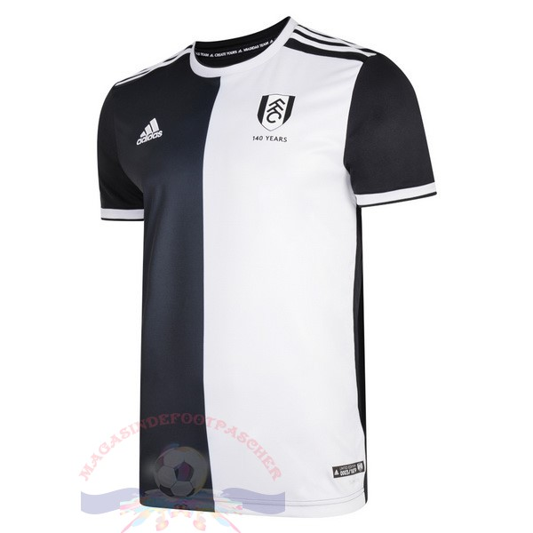 Magasin Foot Adidas Maillot Fulham 140Th Noir Blanc