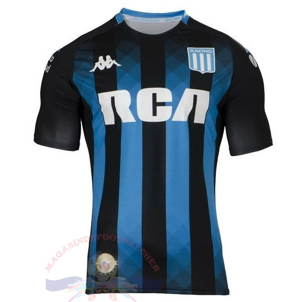 Magasin Foot Kappa Exterieur Maillot Racing Club 2019 2020 Bleu
