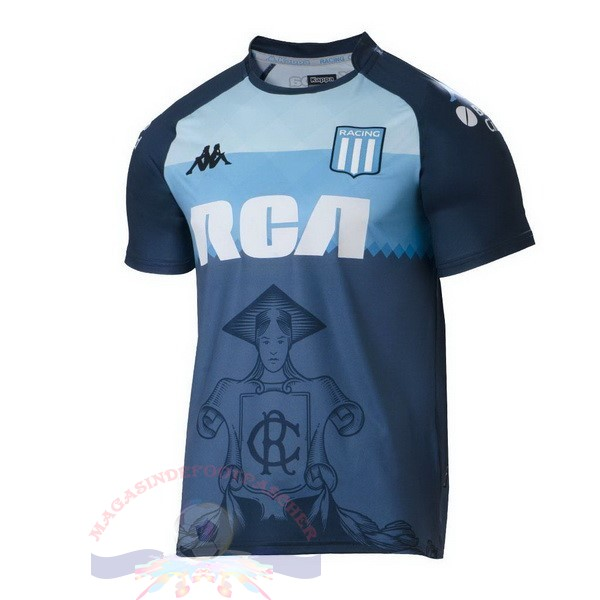 Magasin Foot Kappa Third Maillot Racing Club 2018 2019 Bleu