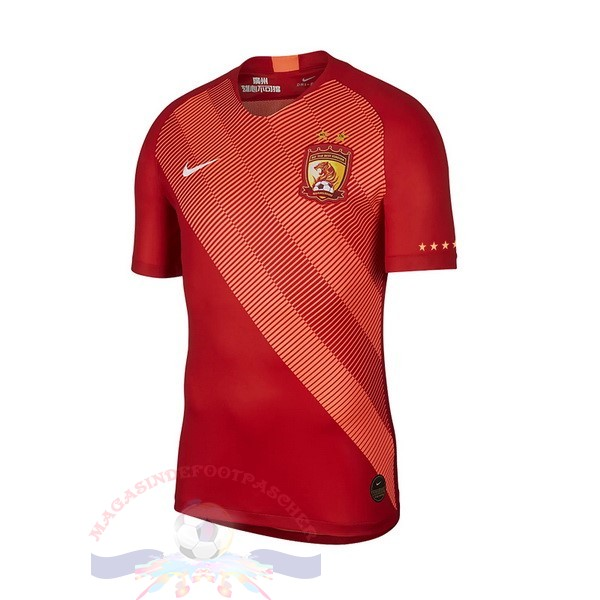 Magasin Foot Nike DomiChili Maillot Evergrande 2019 2020 Rouge