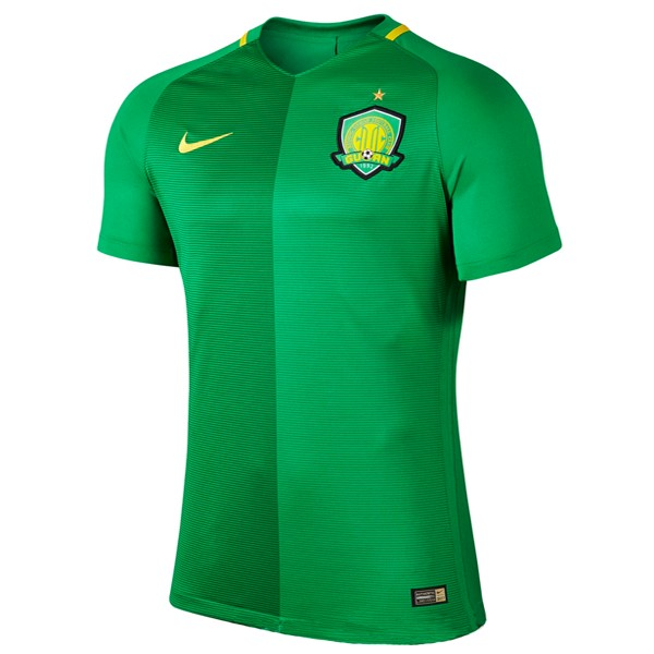 Magasin Foot Nike Domicile Maillots Guoan 2017 2018 Vert