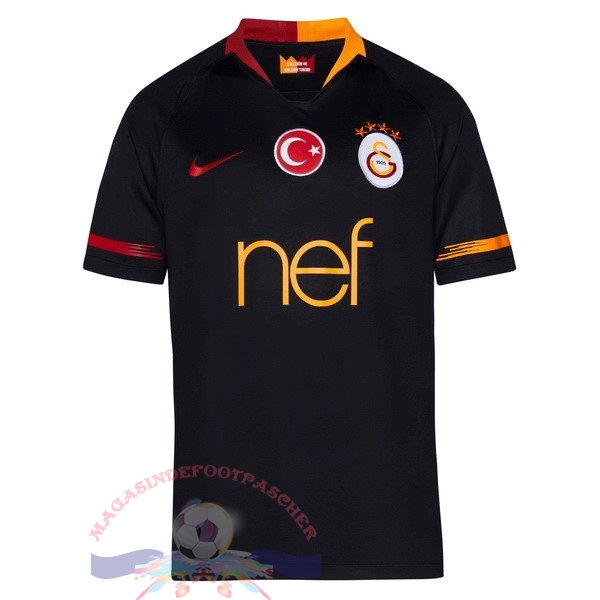 Magasin Foot Nike Exterieur Maillots Galatasaray SK 2018-2019 Noir