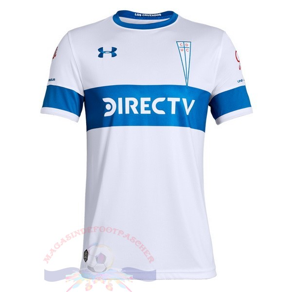 Magasin Foot Under Armour DomiChili Maillot Cd Universidad Católica 2019 2020 Blanc