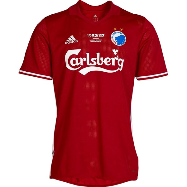 Magasin Foot adidas Third Maillots Copenhague 2017 2018 Rouge