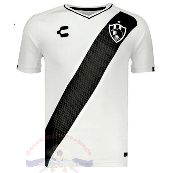 Magasin Foot Tenis Charly DomiChili Maillot Cuervos 2019 2020 Blanc