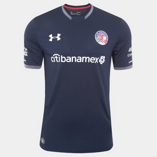 Magasin Foot Under Armour Third Maillots Deportivo Toluca 2017 2018 Noir