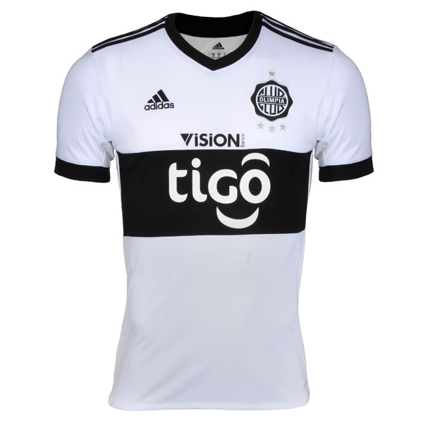 Magasin Foot adidas Domicile Maillots Club Olimpia 2017 2018 Blanc