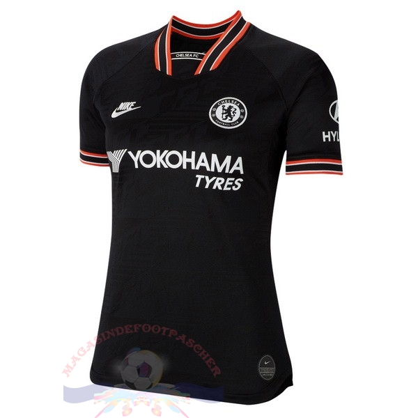 Magasin Foot Nike Third Maillot Femme Chelsea 2019 2020 Noir