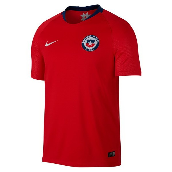 Magasin Foot Nike Domicile Maillots Chili 2018 Rouge