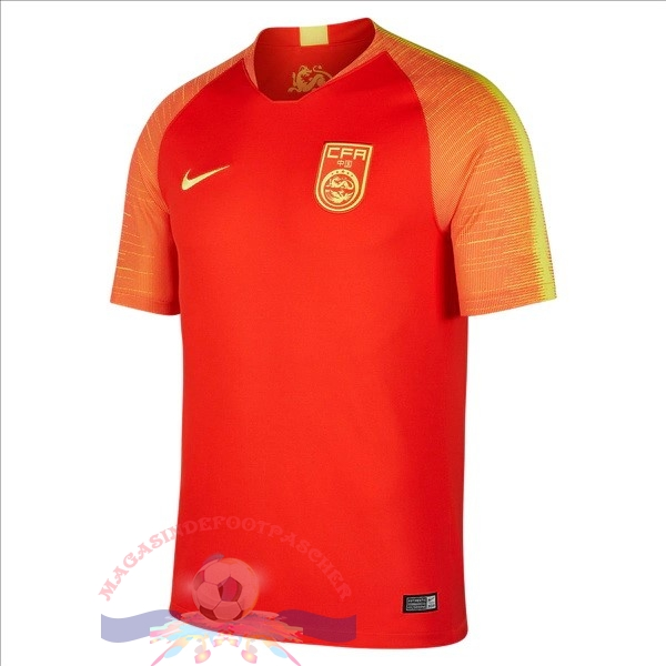 Magasin Foot Nike Domicile Maillots Chine 2018 Rouge