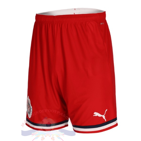 Magasin Foot Puma Exterieur Pantalon Chivas 2019 2020 Rouge