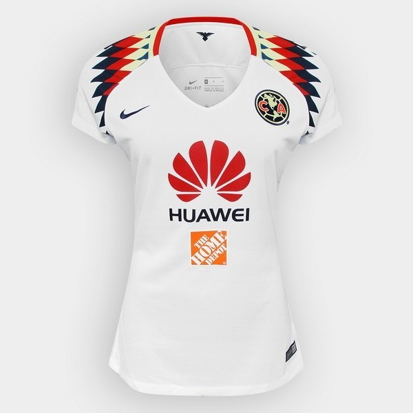 Magasin Foot Nike Exterieur Maillots Femme Club América 2017 2018 Blanc