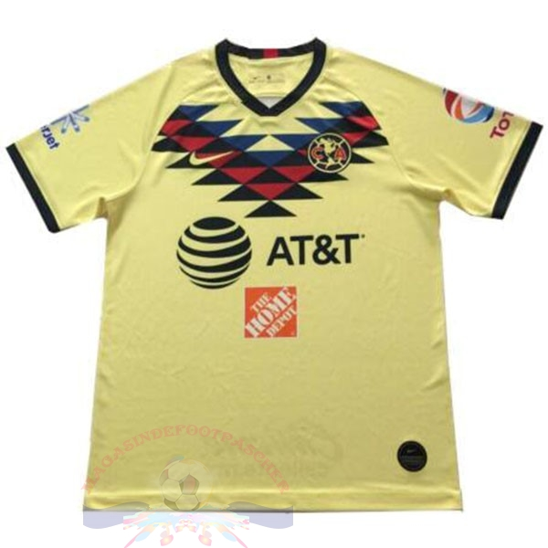 Magasin Foot Nike Domicile Maillot Club América 2019 2020 Jaune