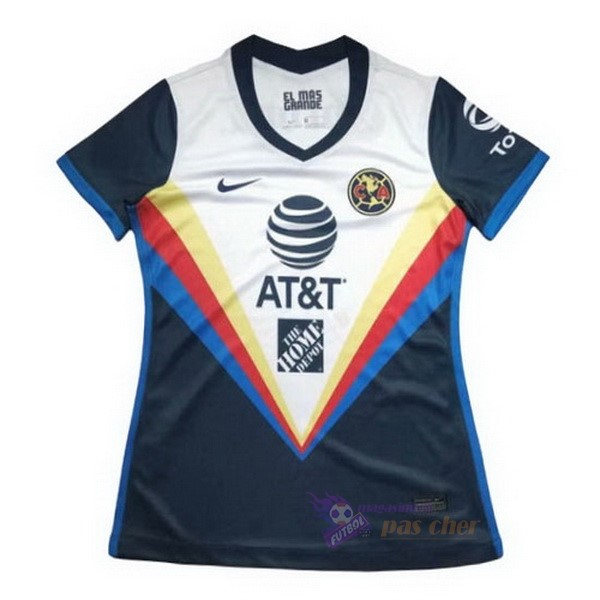 Magasin Foot Nike Exterieur Maillot Femme Club América 2020 2021 Blanc