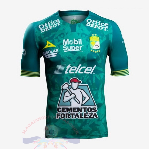 Magasin Foot Pirma Domicile Maillot Club León 2019 2020 Vert