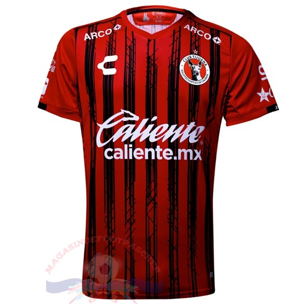 Magasin Foot Tenis Charly Domicile Maillot Tijuana 2019 2020 Rouge