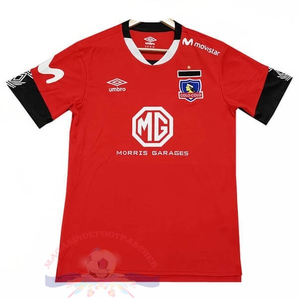 Magasin Foot Tenis Charly Third Maillot Colo Colo 2019 2020 Rouge