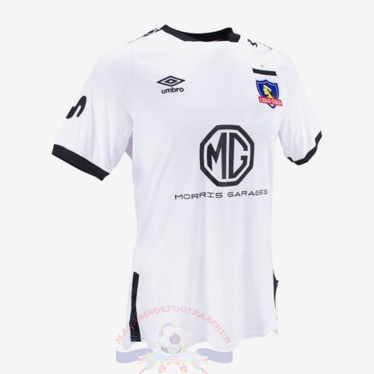Magasin Foot umbro Domicile Maillot Colo Colo 2019 2020 Blanc