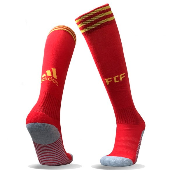 Magasin Foot adidas Domicile Chaussettes Columbia 2018 Rouge