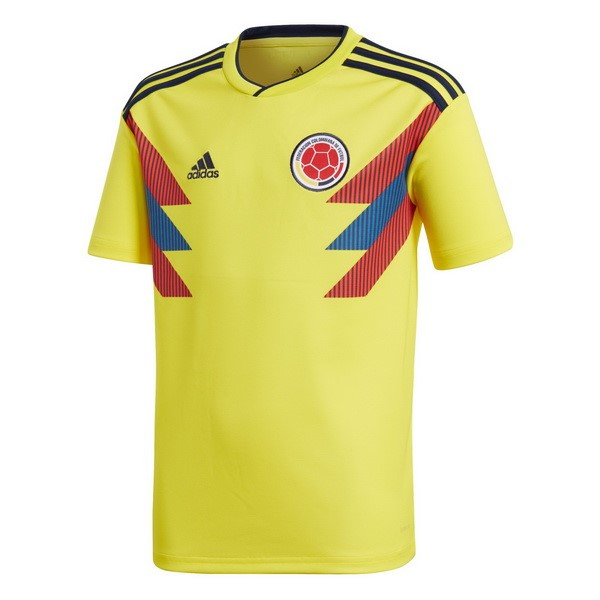 Magasin Foot adidas Domicile Maillots Columbia 2018 Jaune