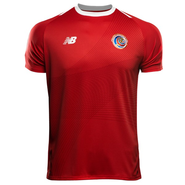 Magasin Foot New Balance Domicile Maillots Costa Rica 2018 Rouge