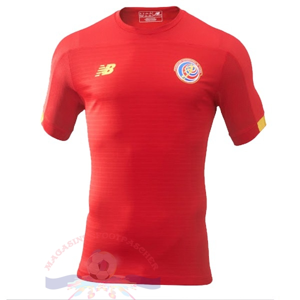 Magasin Foot New Balance Domicile Maillot Costa Rica 2019 Rouge